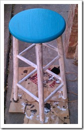 Stool durring